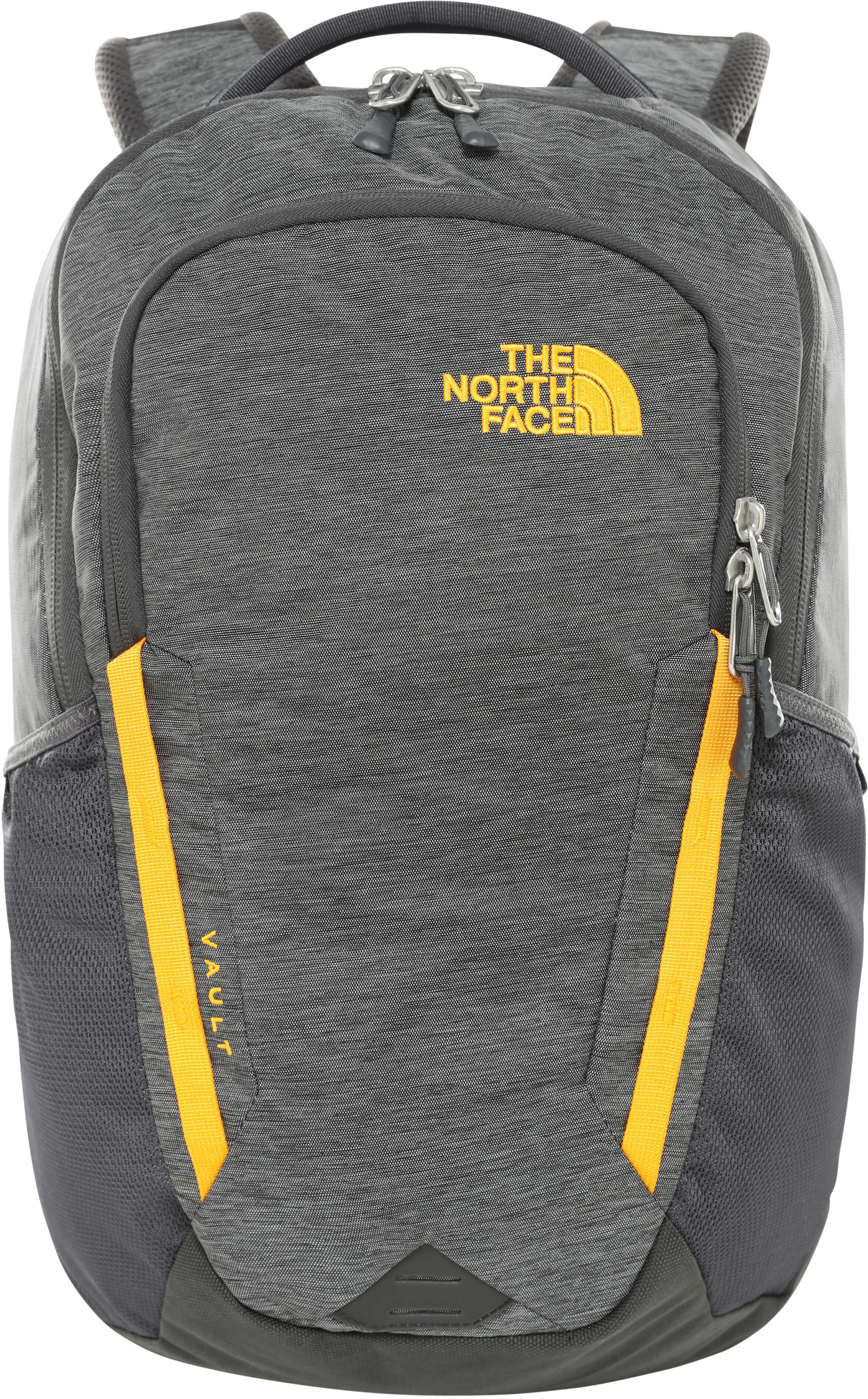 The North Face Vault Zaino grigio arancione e3af54743215